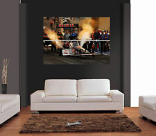 Top Fuel Dragster coche divertido Gigante De Pared Art Print imagen Cartel