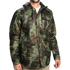 Burton Ludlow Insulated Jacket - Medium - Java Camo Snowboarding Coat - Puffer