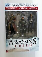 ASSASSIN'S CREED GOLDEN AGE OF PIRACY MCFARLANE FIGURES 3-PACK – MIB