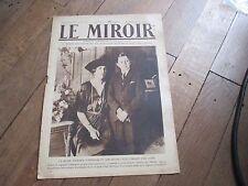 JOURNAL LE MIROIR 318 28 decembre 1919 reine victoria et son second fils jaime