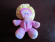 Vintage Fisher Price Cinderella doll girl clip toy smuggler Smooshees Smooshies