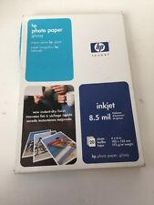 "NOS Sealed HP Photo Paper, Glossy (C7890A, 4""x6"", 20 Sheets)"