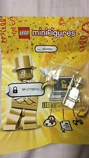 LEGO Mr Gold MISB Series 10 Minifig Collectibles.