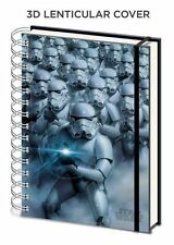 STAR WARS STORMTROOPER 3D LENTICULAR COVER A5 NOTEBOOK LINED OFFICIAL
