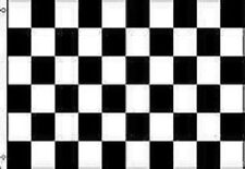 3 BLACK AND WHITE CHECKERED RACING FLAGS 3 x 5 NASCAR #AA1 Free Shipping