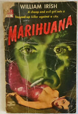 1941 William Irish ~ MARIHUANA A Drug-Crazed Killer at Large ~ Dell