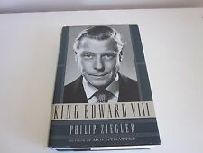King Edward VIII by Philip Ziegler Hardcover 1st American Edition