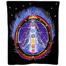 Panno muro Batik chakra Multicolore 106 x 90 cm meditazione yoga