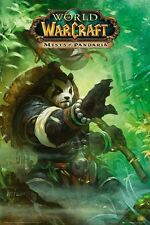 "WORLD OF WARCRAFT POSTER ""MISTS OF PANDARIA"" LICENSED ""BRAND NEW"""