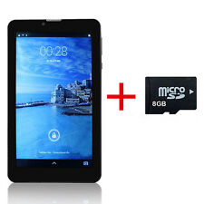 "7"" Dual Core Dual SIM 4GB Android 4.2 Bluetooth 3G Phablet Tablet + 8GB TF Card"