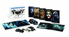 The Dark Knight Trilogy:Ultimate Collector's Limited Edition(6 Blu-ray Set)NEW