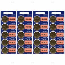 20 NEW SONY CR2032 3V Lithium Coin Battery Expire 2025 FRESHLY NEW - USA Seller