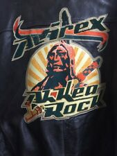 avirex leather jacket XXXXXL 5XL Indian Head Ah Kea Rock Tribe