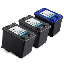 3PK HP 56 57 Ink Cartridge C6656AN C6657AN  PSC 1315 1210 1350 1110 1310 Printer