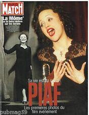 Coupure de presse Clipping 2006 (24 pages) Film La Mome Piaf  Marion Cotillard