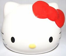 HELLO KITTY Ceramic Money Box With Plastic Plug, Sanrio Licence 1976, 2011 - EC
