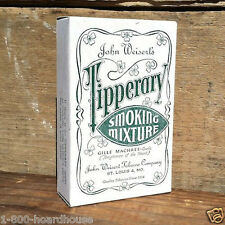 3 Original TIPPERARY SMOKING CIGARETTE TOBACCO Display Store Boxes 1940s NOS