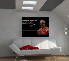 Michael Jordan large giant games poster print photo mural wall art ipx43