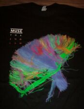 MUSE The 2nd Law NORTH AMERICA 2013 TOUR T-Shirt Band MEDIUM NEW