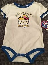 NWT HELLO KITTY Milwaukee Brewers Baseball Infant Bodysuit ~ 18 Months