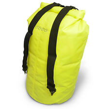 GOSO Waterproof Dry Bag Backpack Water Resistant Strong PVC Dry Sack  40L YELLOW