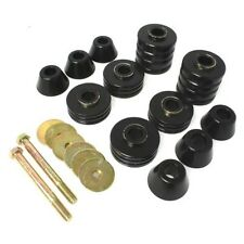 Energy Suspension 3.4103G Body Cab Mount Set Black Polyurethane