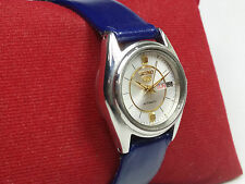 VINTAGE SEIKO 17 JEWELS AUTOMATIC DAY&DATE JAPAN MADE ANALOG DIAL WRIST WATCH.