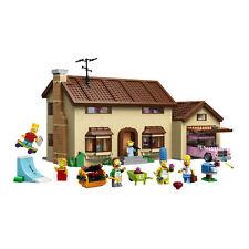Simpson's House Building Blocks  Toys  2575Pcs - MOC 71006 DHL  Delivery