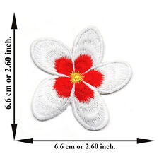 White Sakura Flower Cherry Blossom Tree Nature Japan Applique Iron on Patch Sew