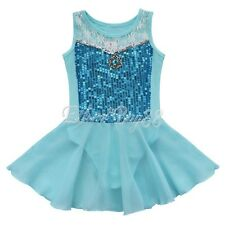 Toddler Girl Leotard Dress Ballet Dance Gymnastic Tutu Clothes Dancewear Costume