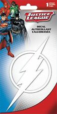 THE FLASH LOGO - WINDOW DECAL/STICKER - BRAND NEW - DC JUSTICE LEAGUE CAR 7129