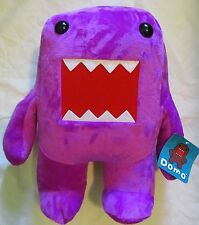 "18"" Large Plush Stuffed Animal Toy Doll Purple Domo Kun With Tag Anime Monster"