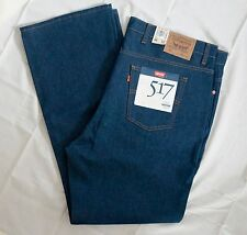 VINTAGE LEVIS MENS 517 DEADSTOCK 46x32 ORANGE TAB DENIM JEANS NOS