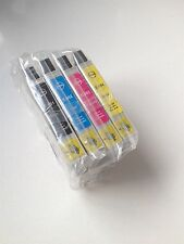 4 Color Ink for Epson Workforce 30 40 310 315 500 600 610 615 1100 Printer 69