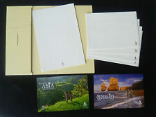 Postcard - Singapore Airlines writing kit + 2 post cards set (#2)