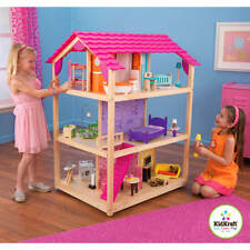 KidKraft So Chic Wooden Dollhouse with 45 Pieces of Furniture