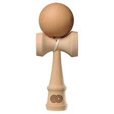 Kendama USA -Classic Wooden Skill Toy - Kaizen - Beech - Natural - KZN100