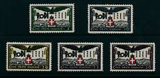 ITALY RHODES 1932 DODECANESE Is.OCCUPATION ANNIVERSARY 5c to 30c UNMOUNTED MINT