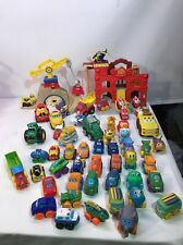 Tonka Chuck & Friends Playsets Plus Over 50 Cars!