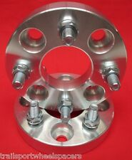 """1"""" 4x4.5 Ford Mustang Falcon Ranchero Comet Wheels Spacers 4 lug 6 cylinder"""