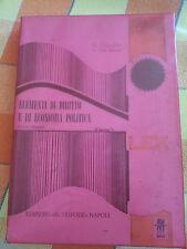 G. Cosimo - V. Del Monte  - Elementi di Diritto e Di Economia Politica - Tripode