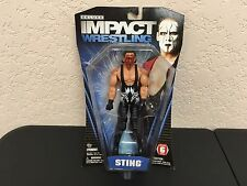 Sting Red Wrestling Deluxe Impact Wrestling Series 6 Jakks Pacific WWF WCW WWF