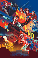The World's End Poster - Mondo - Kevin Tong - Limited Edition of 290