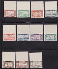 Syria mnh stamps mi#528-538 unlisted imperfs 1946