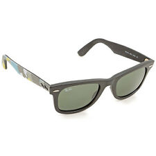 Ray Ban RB2140 6065 Original Wayfarer Urban Camflouage Black &Green Sunglasess