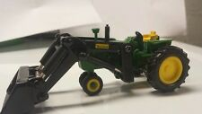 1/64 ERTL custom John deere 4010 nf tractor with farmhand loader farm toy