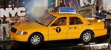 New york City taxi 1:24 NYC Cap voiture miniature métal Ford Crown victoria neuf