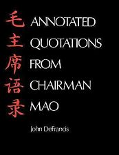 Annotated Quotations from Chairman Mao (Linguistic S)-ExLibrary