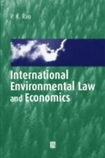 International Environmental Law and Economics, P. K. Rao, New Book