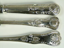 MAPPIN & WEBB Cutlery - KINGS Pattern - Tea or Butter Knife / Knives - 7""